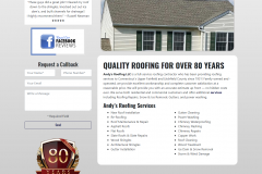 Andy's Roofing Website