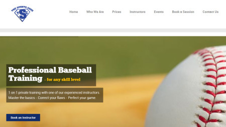 CT Sports Cave Homepage