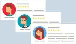 SEO, online reviews