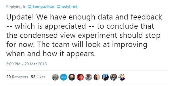 Zero SERP Algorithm Update