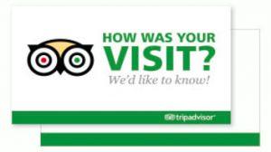Trip Adviser review card