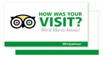 Trip Adviser review card