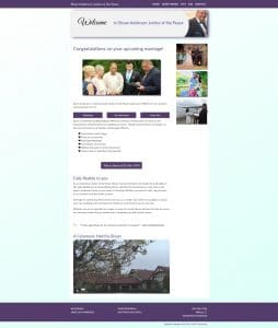 Website for Justice of the Peace in Milford, CT