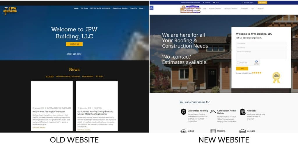 JPW Website by Elvin Web Marketing